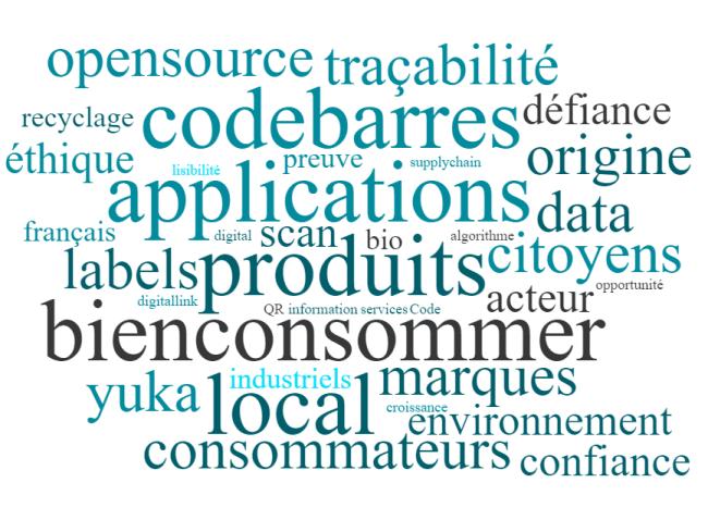 BienConsommer nuage de mots Notre vision du Bien-Consommer : une consommation intelligemment augmentée